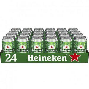 Heineken tray 24 blikjes gekoeld