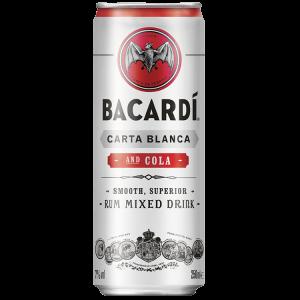 Bacardi cola blikje 25cl